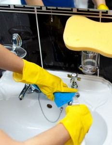 sink gloves image