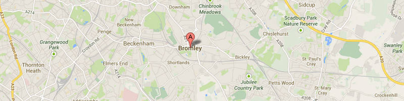 Bromley Map Image
