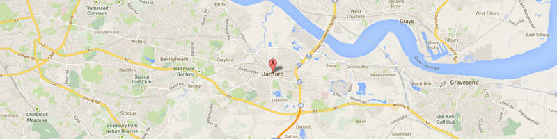 Dartford Map Image