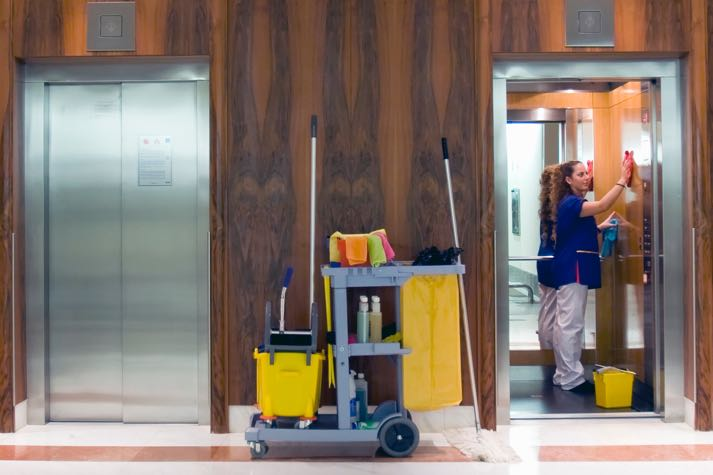 Supreme Cleaning - Daily Contract Cleaning - Homepage Image